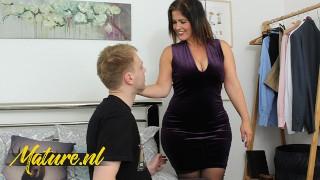MatureNL - Big Booty Spanish MILF Montse Fucked By Son's Bestfriend