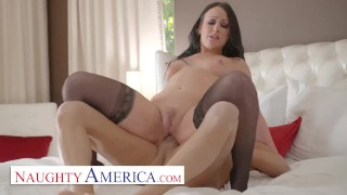 Naughty America – Jennifer White will do anything to stop her husband from being bullied