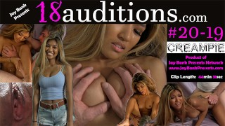 19yo Asian Audition - FIRST VIDEO EVER - Clara Trinity x Jay Bank x 18auditions