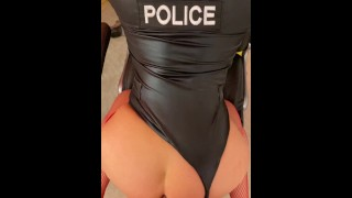 OFFICER BROOKS GETS ASS FUCKED XXX