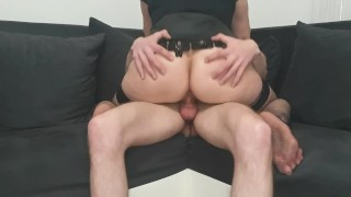 fucking after work anal masage