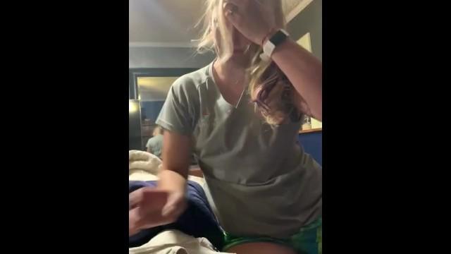Friend Loses Bet Blowjob