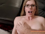 Step Aunt Cory is a Horny Nake House Guest - Cory Chase