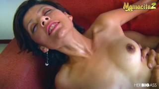 HerBigAss - Laura Toro Latina Colombiana Oiled Up For Hardcore Pussy Fuck - MAMACITAZ