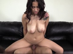 All Natural Diva Melody Gets Dicked On The Table!