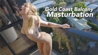 secretcrush4k – screwing dildo on gold coast queensland balcony – teen porn