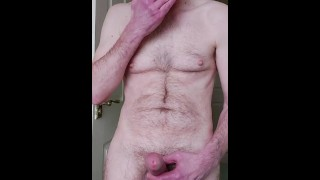 I enjoy a nice morning, edging wank with lots of moaning and leaking precum