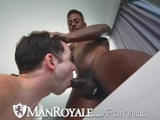 ManRoyale Dark Chocolate Cock Mixed With Cock Cream