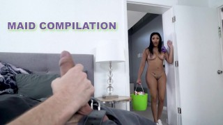 BANGBROS – My Dirty Maid Compilation Featuring Melody Foxx, Sara Lace, Ariana Van X & More!