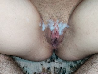 Hard Fuck Wet Pussy And Big Cumshot On Pussy