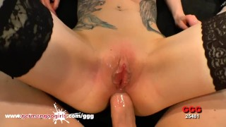 Meli's Tiny ButtHole Filled with a Huge Dick