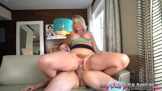 Huge Tit MILF Helps Stepson Unload Rachael Cavalli