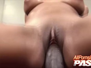 Bouncy Phat Ass Black Babe Amia Miley Cock Riding