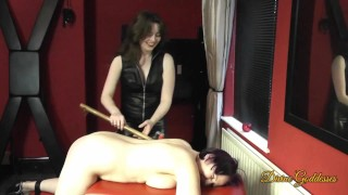 fem subs first time on film