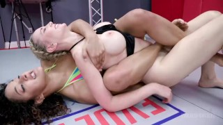 Lesbians Wrestling And Eating Pussy As Daisy Ducati Takes On Newcomer Lilly James