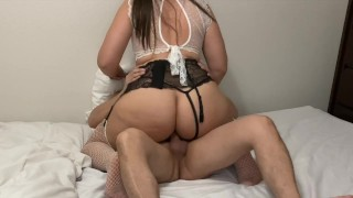 MILF PAWG HAS MORE CUSHION FOR THE PUSHING DOGGYSTYLE STAND UP PENELOPE PLUSH