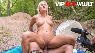 ExposedCasting Rossella Visconti Blonde Czech Slut Outdoor Fuck With Horny Casting Agent
