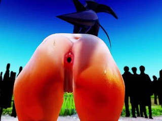 Mmd r18 best twerk master hot and sexy jelly ass texture will make you hungry and make eat jelly