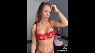 Littleangel84 – Tik Tok Porn Silhouette Challenge Porn – Version Complete & Anal Plug