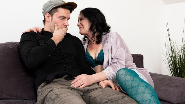 MATURE4K Guy is very upset but stepmother cheers him up through fucking