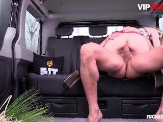 FuckedInTraffic – Hardcore Easter Car Fuck With Latvian Slut Empera