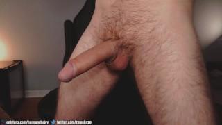 MASSIVE Thick Cock BIG Cumshot!