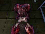Resident Evil - Jill Valentine Zombie Gangbang (BJ, Doggy, Riding, Creampie, DP, Facial)