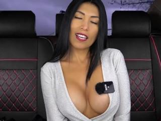 Sexy Latina Seduces Fake English Driver