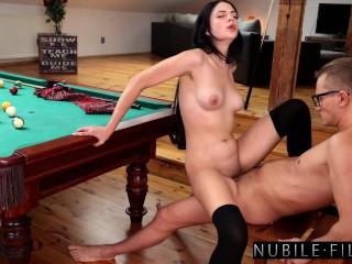 Hot Brunette Mia Trejsi Seduces Her Man For A Fuck and Facial S38:E2