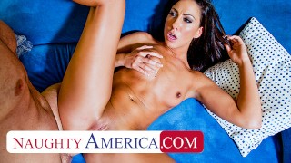 Naughty America Tiffany Brookes gets pumped for school