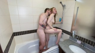 fucked a gorgeous blonde in the shower