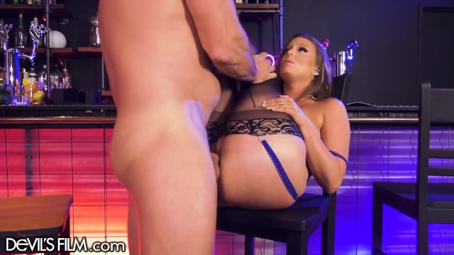 DevilsFilm Cheating Wife Gets Caught While Being Rough Fucked Hard By The Barman