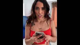 Latina Babe VANESSA SKY the Lucky Slut gets Fucked in Public