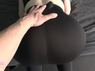 Big Ass Fitness Girl Gets Fucked during Yoga Session