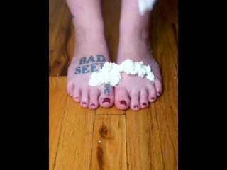 Whipped Cream and Bare Feet Style - floorislavacake1