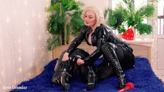 FemDom Pussy Fuck Training of pretty submissive girl
