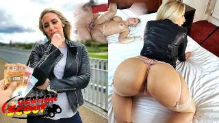 GERMAN SCOUT BIG ASS AND BOOBS MILF KARLIE PICKUP AND ROUGH FUCK AT STREET CASTING