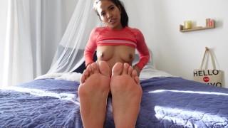 Foot Fetish JOI - Jada Kai
