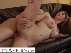 Naughty America - Angelgets fucked by hotel staff after her breakup