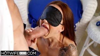 HotwifeXXX Shared Married Tiny Tit BDSM Kendra Cole Deepthroat