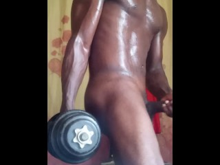 Work out masturbation