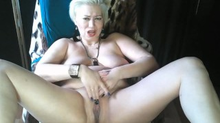 Russian MILF AimeeParadise - mature Queen of Bitch Orgasms!