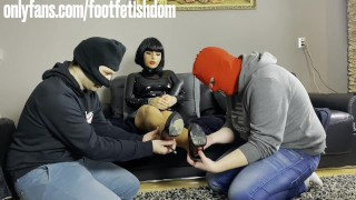 foot worship competition