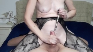 cock fucking with different sounds with final orgasm