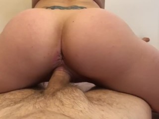 Stunning PAWG Blonde Fit Milf Riding Cock Amazing POV Creampie She Dares Me Not To Cum – DoubleJeez