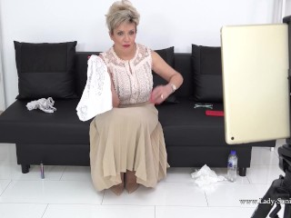 Video 1515762003: lady sonia, granny joi, granny gilf, gilf solo, softcore solo, old granny lady, mature granny lady, big boobs joi, huge tits joi, big tits blonde granny, pornstar joi, solo female big tits, british joi, lingerie joi, stockings joi, fake tits boobs