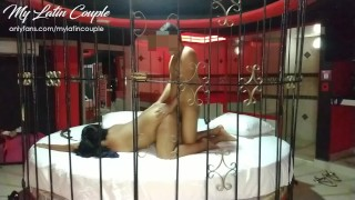 Suite Bondage Sexo Real Pareja Latina
