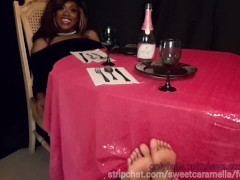 You want to tickle MY feet? (Shortened version)