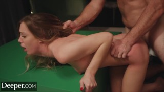 Deeper Naughty Avery gets spanked & disciplined by stranger