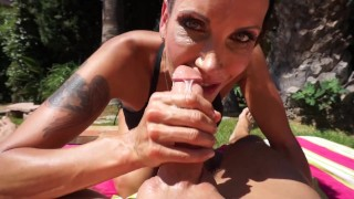Shay Sight Poolside Anal Adventure
